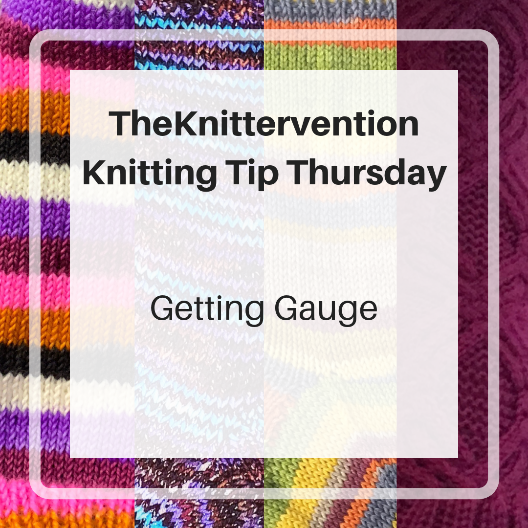 Knitting Tip Thursday – 1