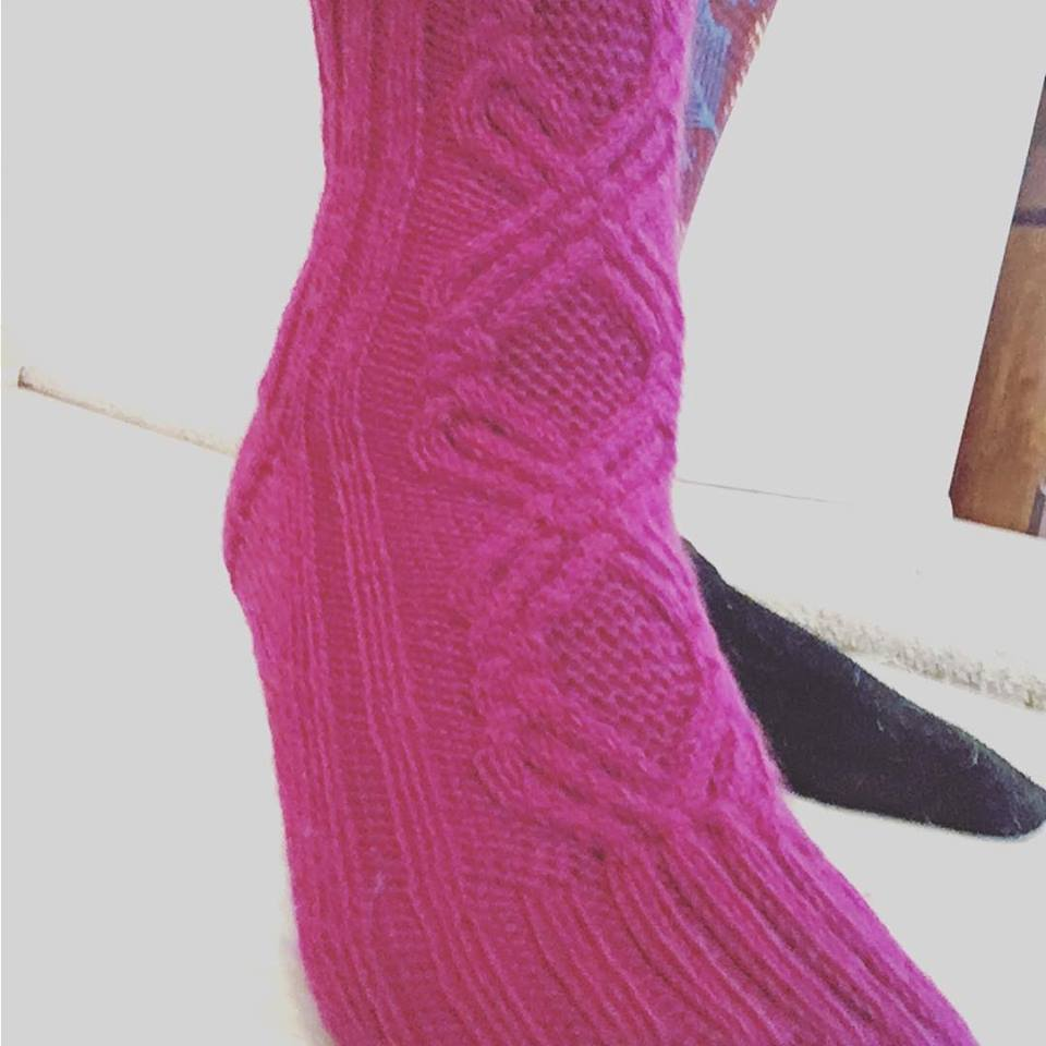 Cabled and Fabled Socks